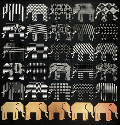 Pedro Friedeberg, 'Elefantes para Nezly', ca. 2017