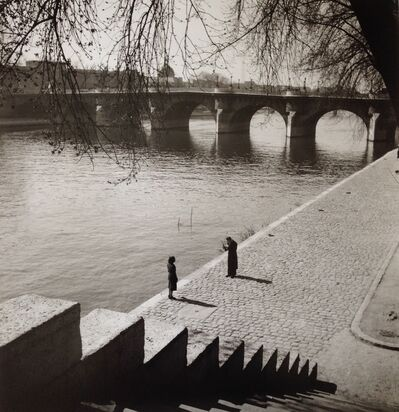 Edouard Boubat, 'Paris, le pont neuf', 1949