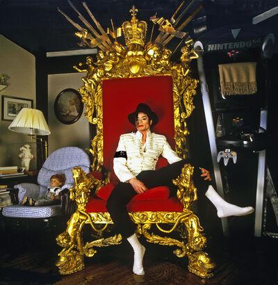 Harry Benson, 'Michael Jackson on Throne (King of Pop)', 1997