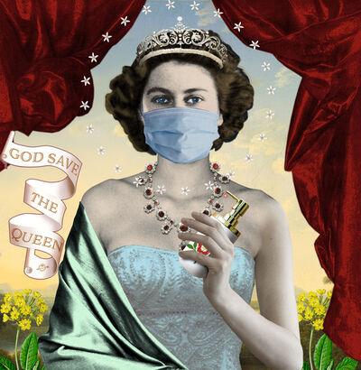 Karin Miller, 'god save the queen 2020', 2020