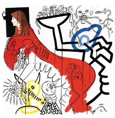 Keith Haring, 'Apocalypse 4', 1988