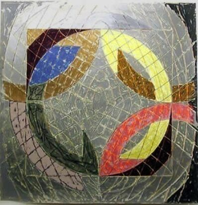 Frank Stella, 'Polar Co-ordinates VIII', 1980