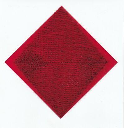 Bernard Aubertin, 'Clou - with pattern', 1966