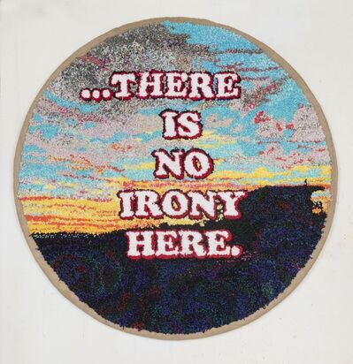 David Kramer, 'No Irony ', 2020