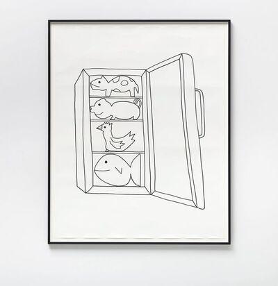 Olaf Breuning, 'Cold Animals', 2016