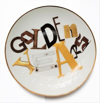 Jack Pierson, 'Golden Years Plate', 2014
