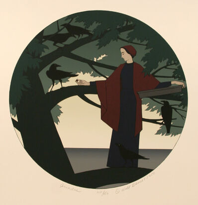 Will Barnet, 'Ariadne', 1980