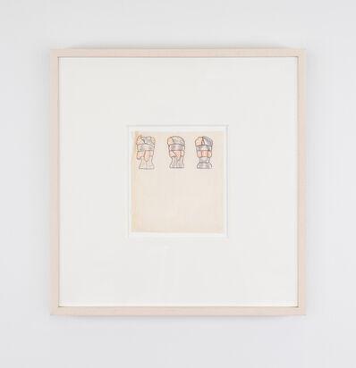 Christina Ramberg, 'Untitled (Heads Bound)', 1972