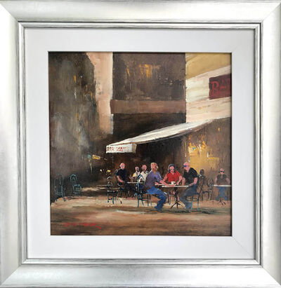 Colin Parker, 'Sunny Coffee, Milan', 2020