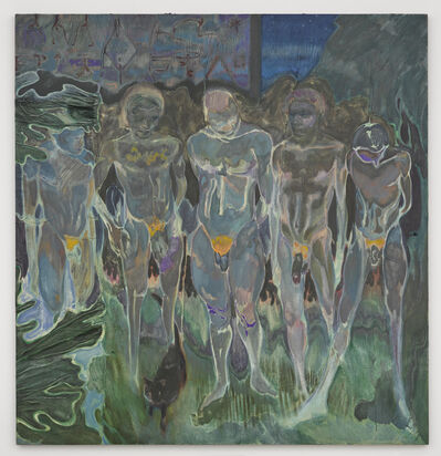 Michael Armitage, 'Nyali Beach Boys', 2016
