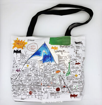 """Jean-Michel Basquiat, 'Guesseted Canvas Tote """"Untitled, 1986""""', 2010-2019"""