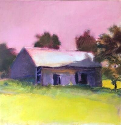 Wolf Kahn, 'Brattleboro Barn, Vermont', ca. 1975