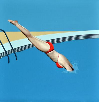 Jeroen Allart, 'Diver - landscape painting', ca. 2014