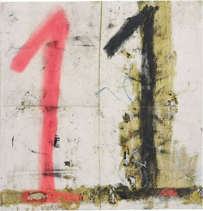 Oscar Murillo (b. 1986), 'Number 11', 2012