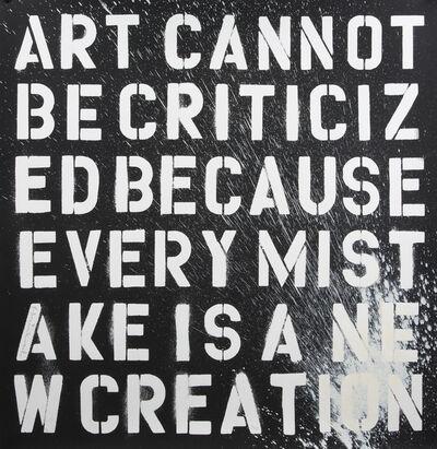 Mr. Brainwash, 'Keep Creating', 2011