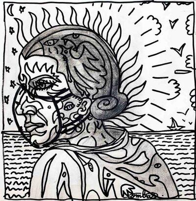 Robert Combas, 'MADAME IRMA EN MÉDITERRANÉE', 2020
