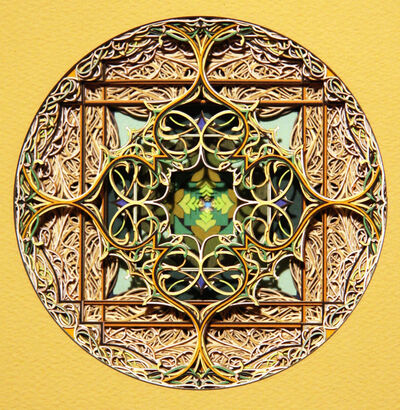 Eric Standley, 'Either/Or Circle 4.15.1', 2014