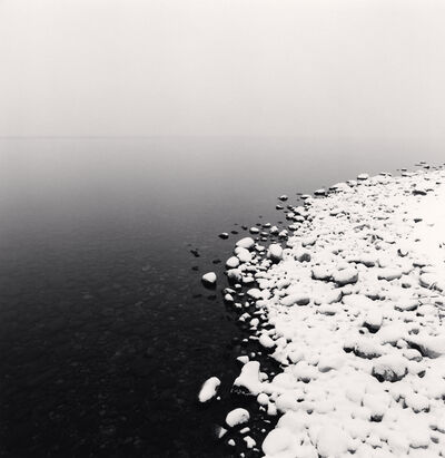 Michael Kenna, 'Snow on Pebbles, Toya Lake, Hokkaido, Japan', 2009