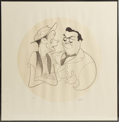 Al Hirschfeld, 'The Honeymooners', 1987