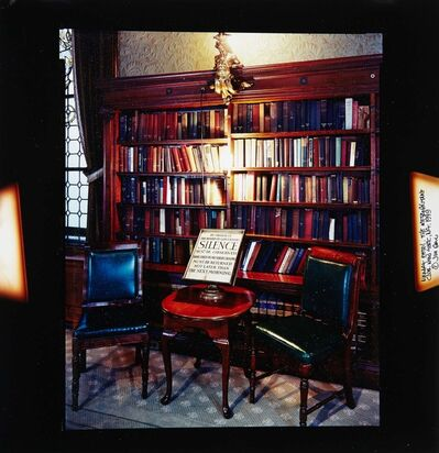 Jim Dow, 'Library Detail, The Metropolitan Club, New York, NY', 1999