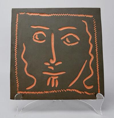 Pablo Picasso, 'Curly Haired Face (Visage aux cheveux bouclés)', 1968-1969