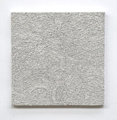 Reiner Seliger, 'Kreidebild weiß', 21st century