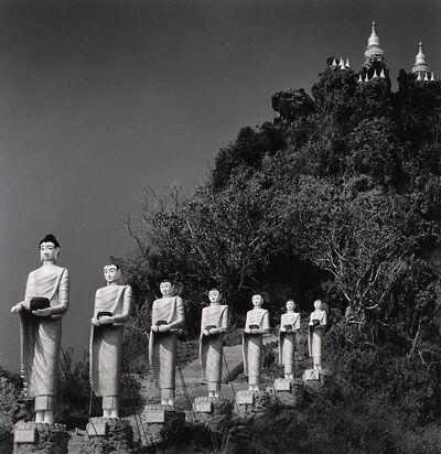 Michael Kenna, 'Buddha Procession, Pindaya, Myanmar', 2019