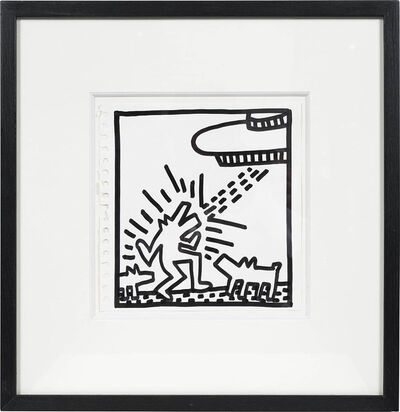 Keith Haring, 'Sans Titre', 1982