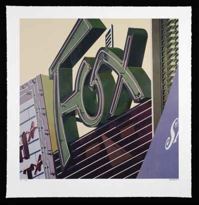 Robert Cottingham, 'Fox, from American Signs Portfolio', 2009