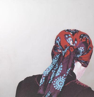 Michelangelo Pistoletto, 'Testa con foulard', 1982