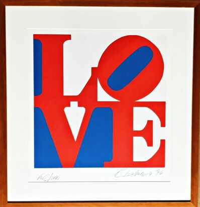 Robert Indiana, 'LOVE  (signed and dedicated to John)', 1996