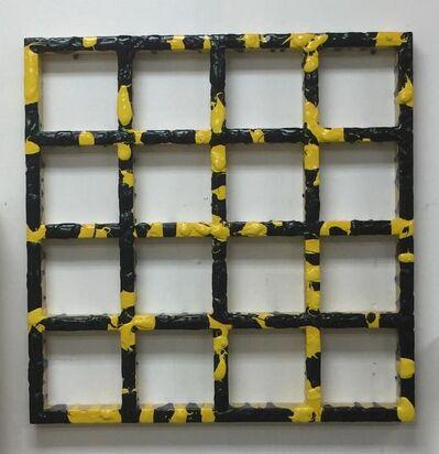 Sigfredo Chacón, 'Rejilla amarillja y negra', 1993/2006