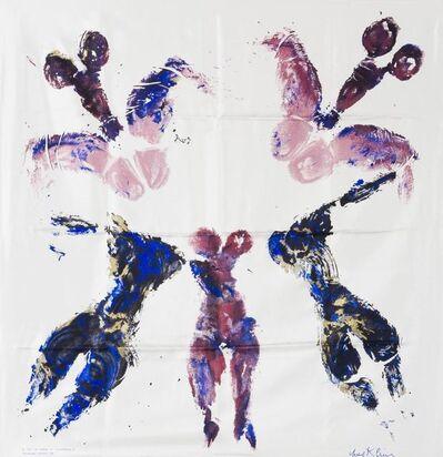Yves Klein, 'Silk scarf', 1993