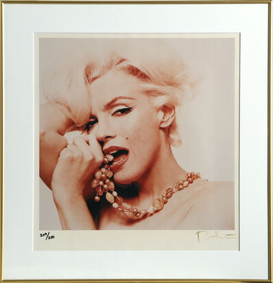 Bert Stern, 'Marilyn Monroe Biting Her Thumb from The Last Sitting', 1974