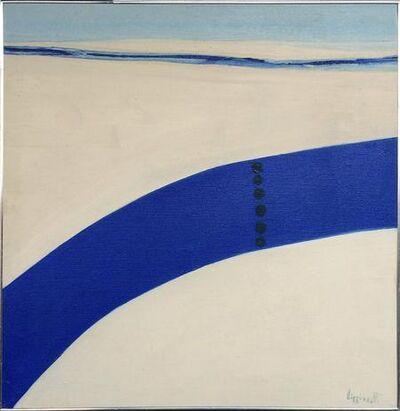 Janet Lippincott, 'Untitled (Blue Swash', ca. 1970