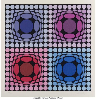 Victor Vasarely, 'Stri-Archt II', 1977