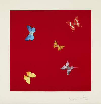 Damien Hirst, 'She Walks in Beauty from Love Poems', 2014
