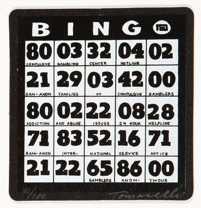 Fred Tomaselli, 'Bingo'