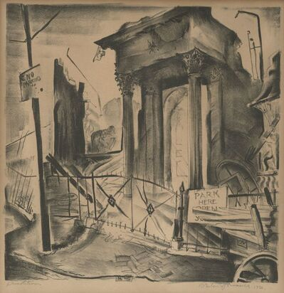 Benton Spruance, 'Demolition', 1930
