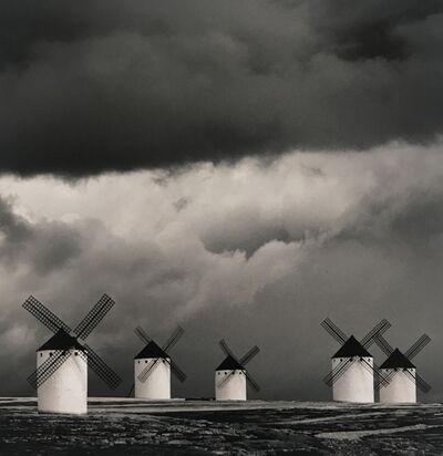 Michael Kenna, 'Quixote's Giants, Study 2, Campo de Criptana, La Mancha, Spain', 1996