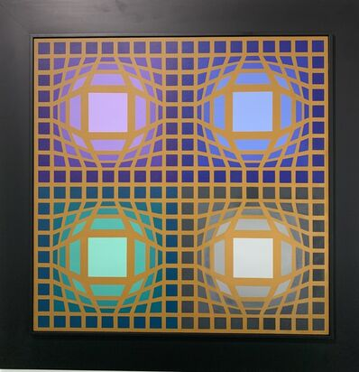 Victor Vasarely, 'Arc-Or', 1974