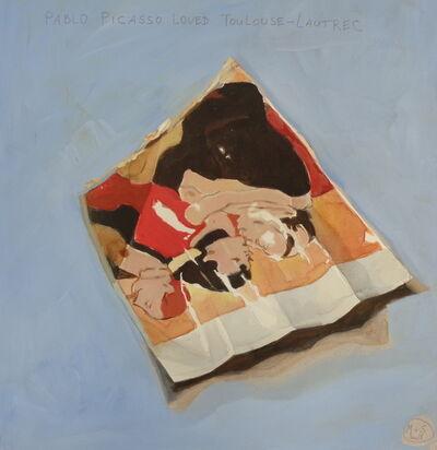 "Marta & Slava, '""Pablo Picasso loved Touluse-Lautrec""', 2018"