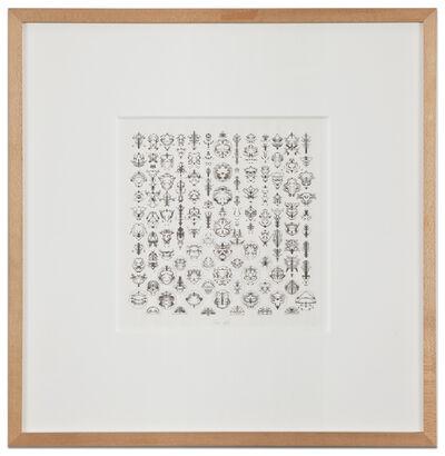 Bruce Conner, 'Inkblot Drawing (September 6, 1993)', 1993
