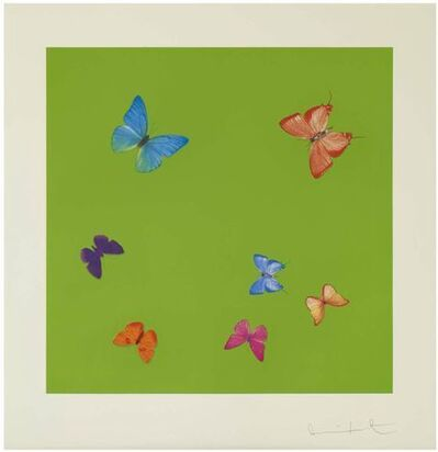 Damien Hirst, 'Love Poems - Longing', 2014