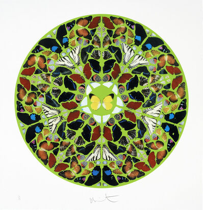 Damien Hirst, 'Psalm - Domini est terra (diamond dust)', 2010