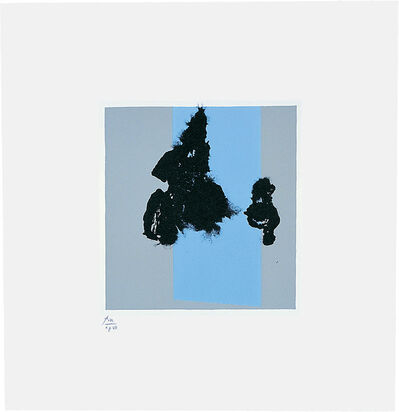 Robert Motherwell, 'Paris Suite IV (Winter)', 1980