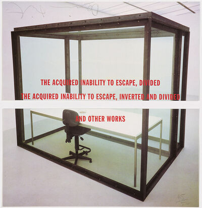 Damien Hirst, 'The Acquired Inability to Escape, Divided. The Acquired Inability to Escape, Inverted and Divided. And other Works', 1993