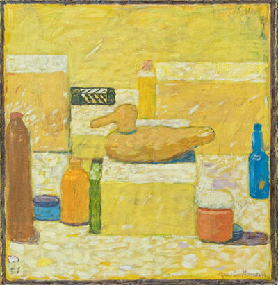 Gaylen Hansen, 'Still Life with Yellow Duck'