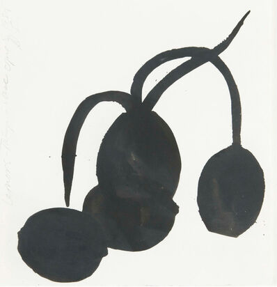 Donald Sultan, 'LEMONS-TULIPS-VASE', 1988