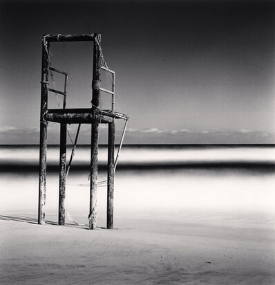 Michael Kenna, 'Watchtower, Study 49, Bongsudae Beach, Gangwon-do', 2018
